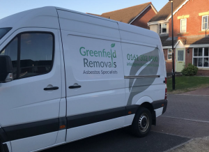 Greenfield Removals van in Manchester