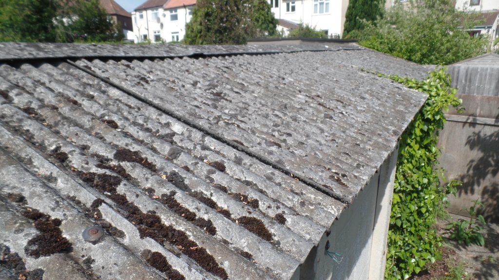 Asbestos Garage Roof Removal - Greenfields