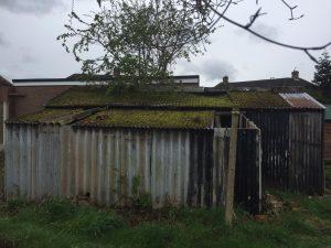 Asbestos Cement Garage in Manchester