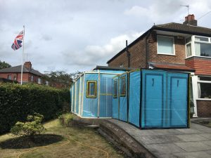 Asbestos Enclosure Around Property In Lancaster
